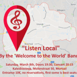 "Welcome To The World ""Listen Local"""